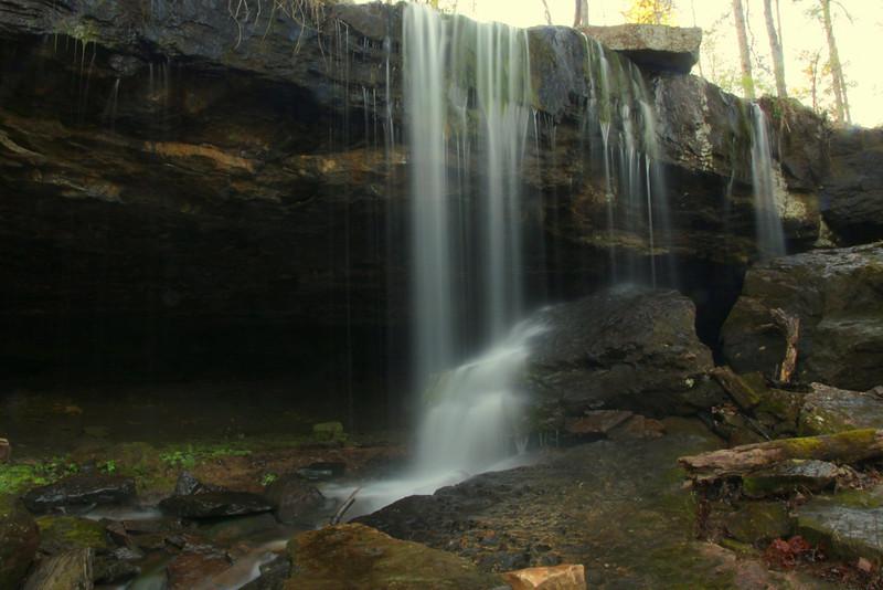 Gulf  Mountain WMA Falls, Gulf Mountain WMA, Arkansas