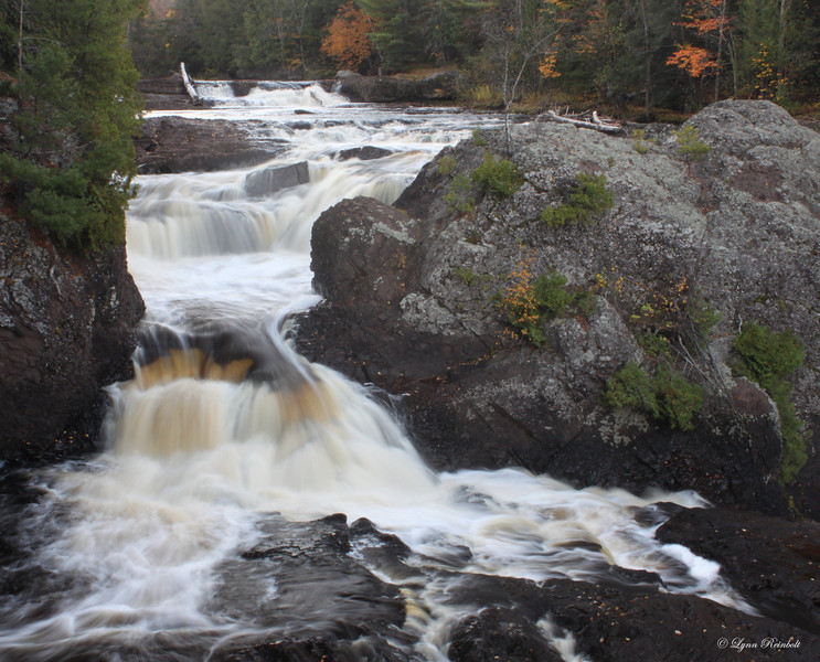 Cascades above Upper Potato Falls, Wisconsin