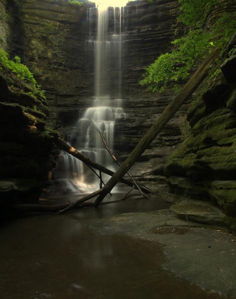 Lake Falls, Matthiessen State Park, Illinois