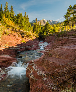 Red Rock Creek, Waterton