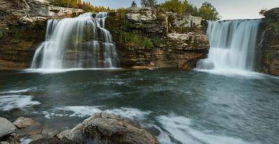 Lundbreck Falls, Cowsnest