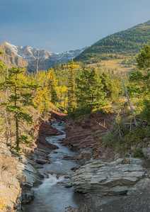Red Rock Creek, Waterton