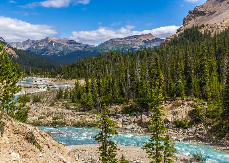 Turquoise, Wild River, Alberta, Canada