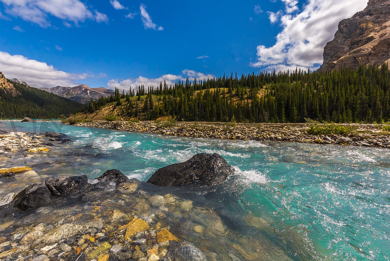Glacial Melt Water, Alberta, Canada