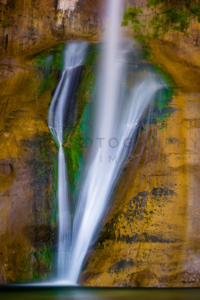126-Foot Lower Calf Creek Falls, Grand Staircase-Escalante National Monument, Utah