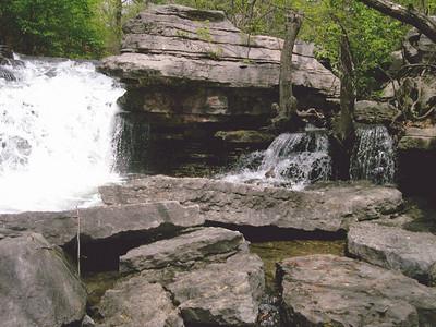 Waterfall at Lake ANN (7)