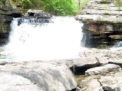 Waterfall at Lake ANN (8)