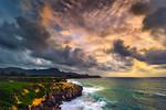 """Po'ipu Bay Golf Course at Sunrise"" Poipu, Kauai, Kaua'i,"