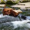 Log at Erskine Falls