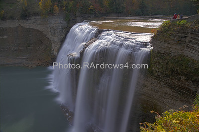 20121013 Middle Falls at Letchworth State Park