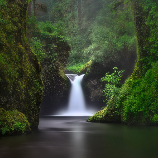 """Solitude Falls""  (Oregon)"