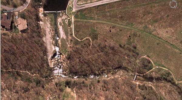 water fall area