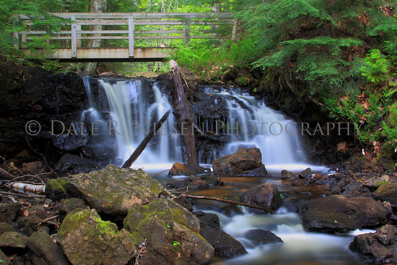 Unnamed waterfall Pictured Rocks National Lakeshore, Munising, Michigan