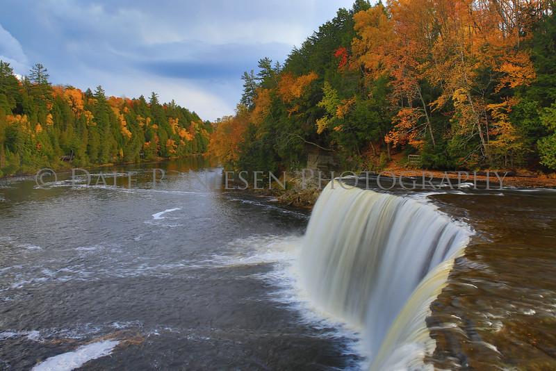 Upper Tahquamenon Falls located near Paradise, Michigan 10/15/2015.