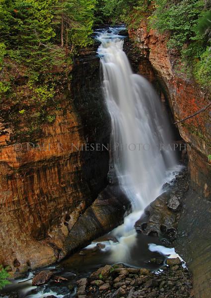 Miners Falls, Pictured Rocks National Lake Shore near Munising, Michigan