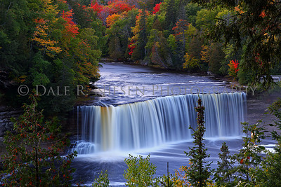 Upper Tahquamenon Falls near Paradise, Michigan