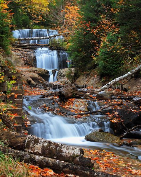 Sable Falls, Pictured Rocks National Lakeshore, Grand Marais, Michigan