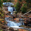 Sable Falls, Pictured Rocks National Lakeshore, Grand Marais, Michigan