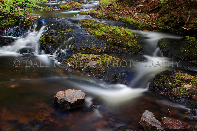 Cascades on Manganese Creek, Copper Harbor, Michigan