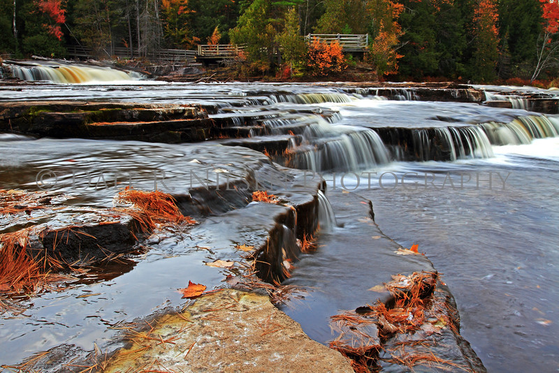 Lower Tahquamenon Falls near Paradise, Michigan