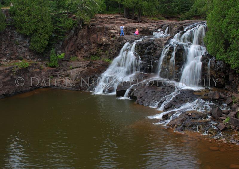 Upper Gooseberry Falls, Gooseberry Falls State Park, Minnesota