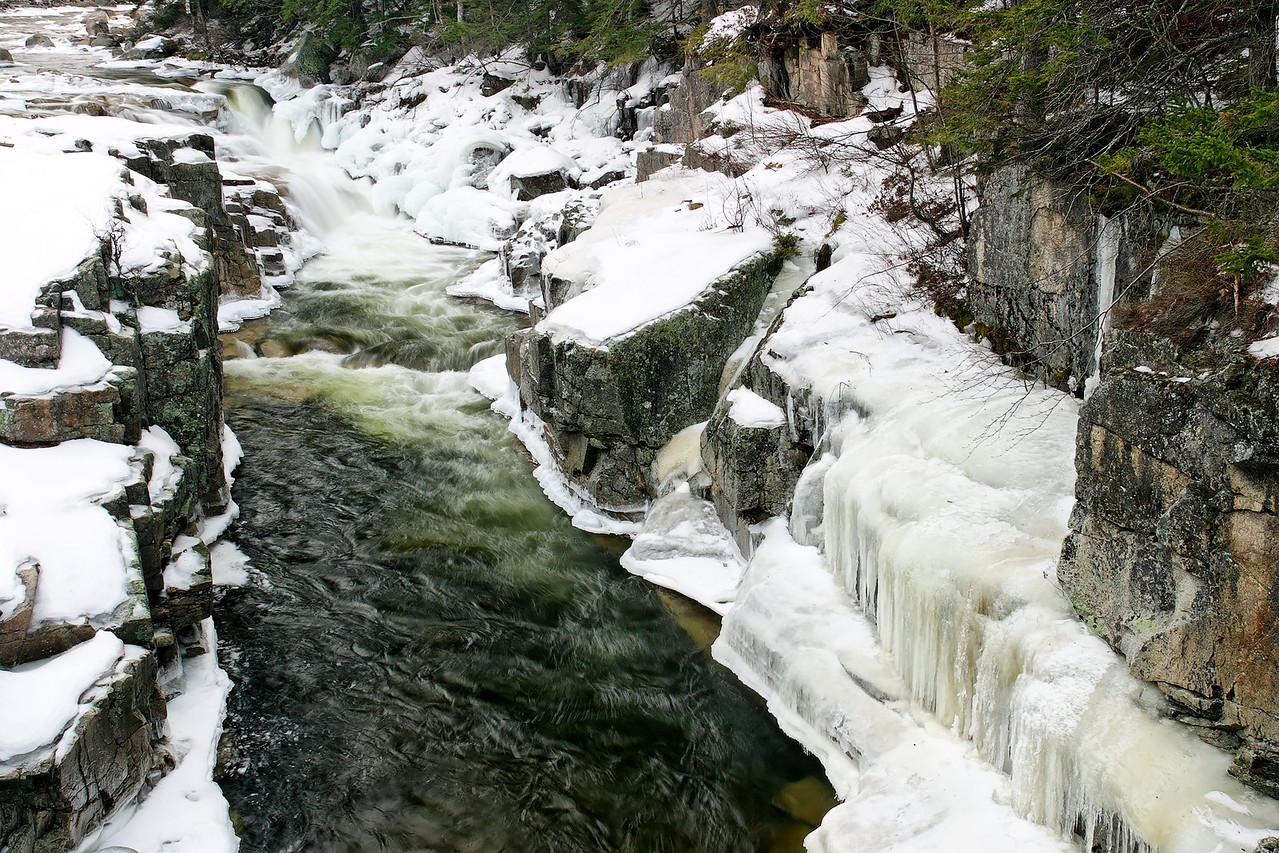 Lower Falls, Kancamagus Highway