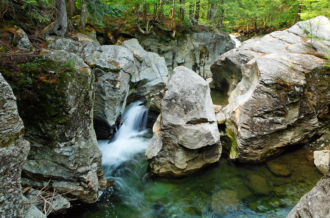 Bingham Falls, Vermont (one of my favorite photos in this gallery)