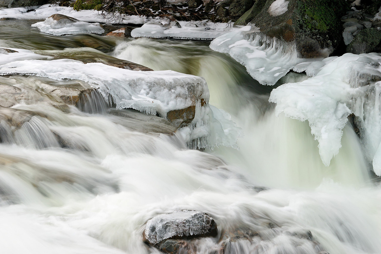 Lower Falls, Kancamagus Highway, White Mountains