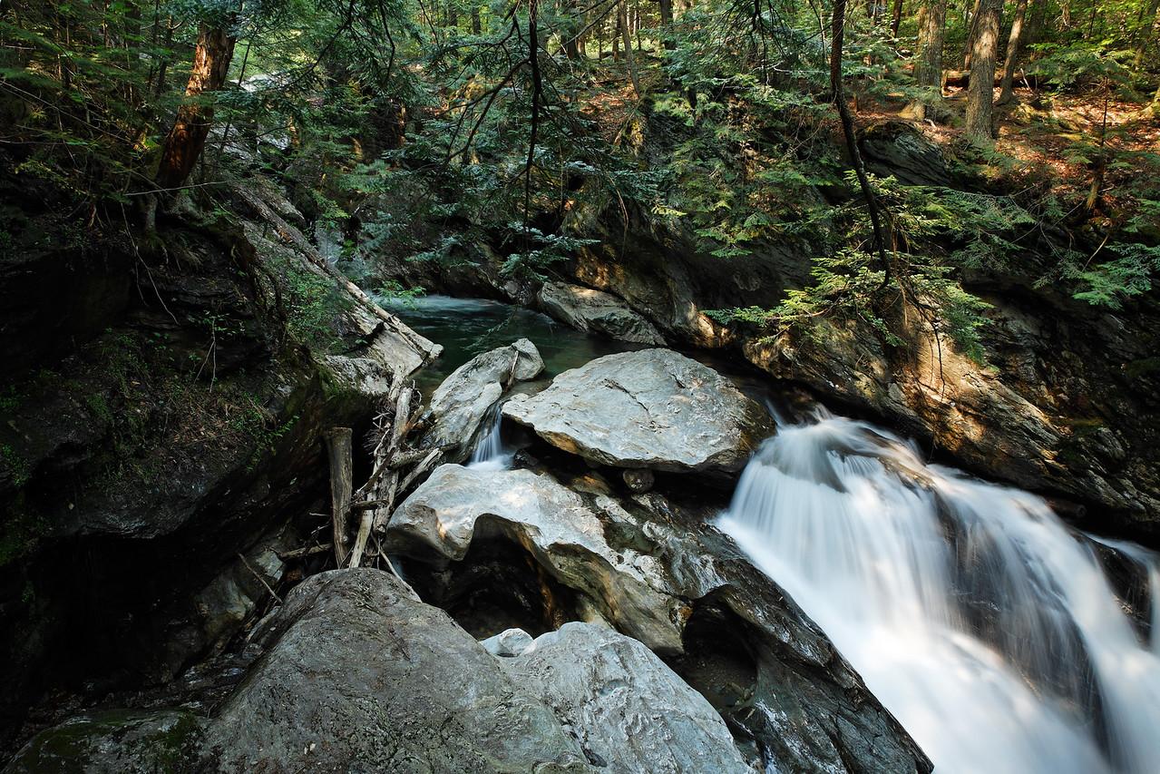 Lower area of Bingham Falls, Vermont