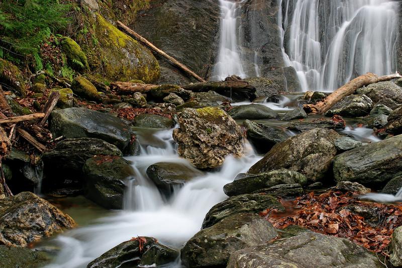 Moss Glen Falls, Granville, Vermont (Autumn)