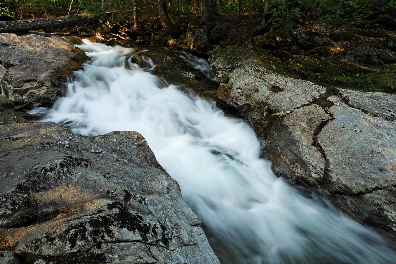 Cascade below Bingham Falls, Vermont