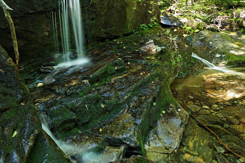 Evans Falls, Triple Falls trail, White Mountains