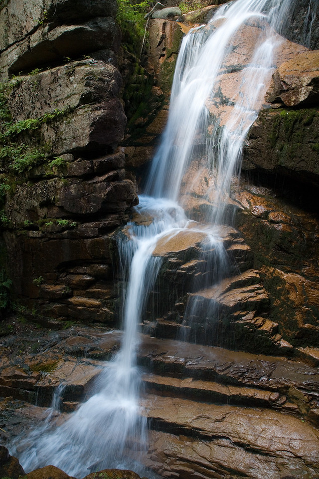 Avalanche Falls, near Franconia, New Hampshire