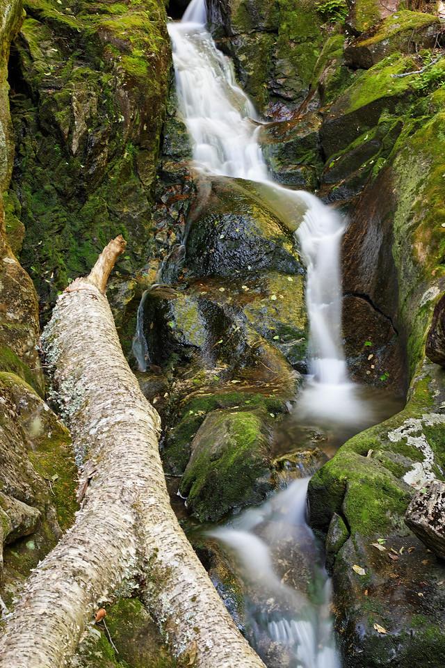Proteus Falls, Triple Falls trail, White Mountains
