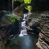 Rainbow Falls, Watkins Glen State Park, Watkins Glen, New York