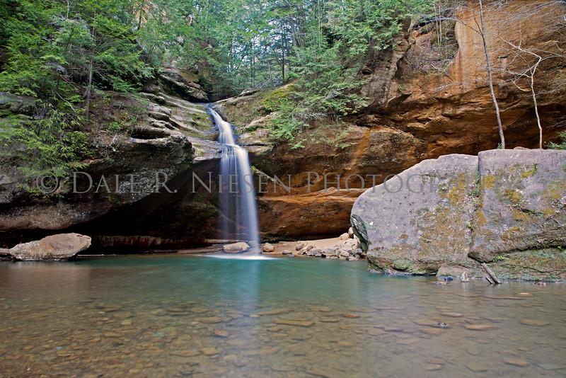 Old Man's Cave - Lower Falls #2, Hocking Hills State Park, Logan, Ohio