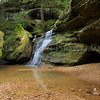 Hidden Falls, Hocking Hills State Park, Ohio
