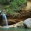 Old Man's Cave  Lower Falls, Hocking Hills State Park, Logan, Ohio
