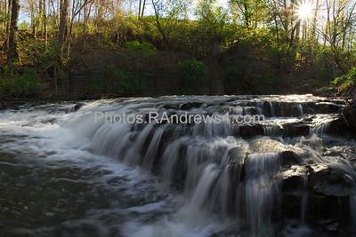 Middle Falls in Corbett's Glen