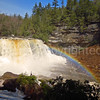 Blackwater Falls with Rainbow