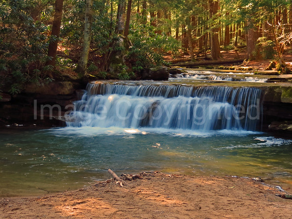 Tolliver Falls in Swallow Falls State Park