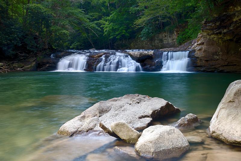 Lower Falls of Glade Creek