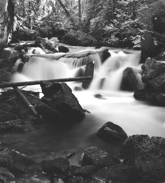Below Crystal Falls