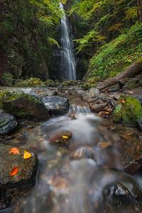 Hyakuhiro Waterfall In Okutama Japan
