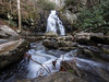 10 January 2013.  Spruce Flats Falls, Great Smoky Mountains National Park, Tennessee.