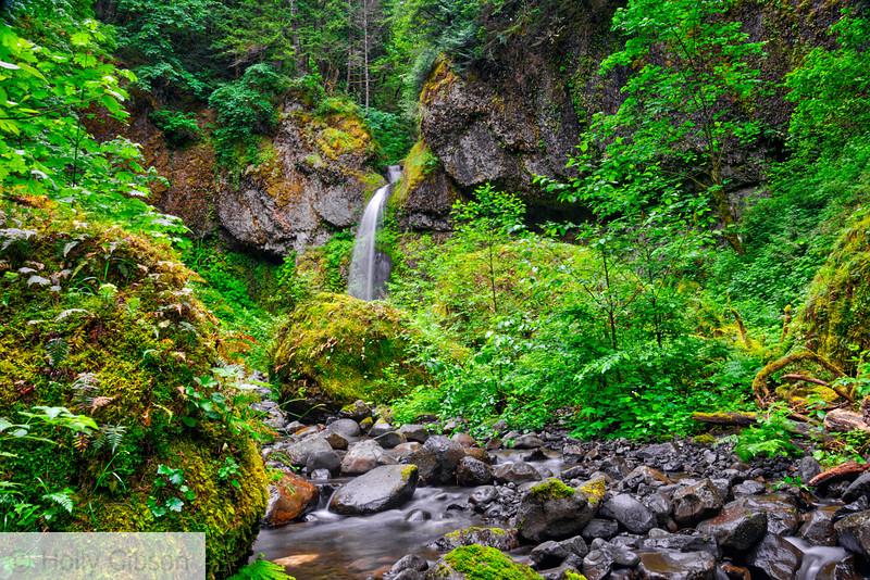 Wahe/Moffett Creek Falls - Columbia River Gorge