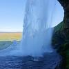 Slippery slop - Seljalandsfoss Falls