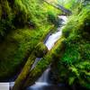 Hidden waterfall - Columbia River Gorge
