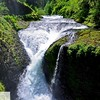 Crisscross or Twister Falls - Eagle Creek trail