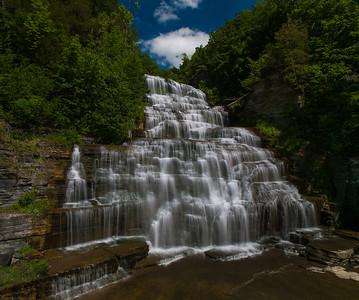 Hector Falls, Ithaca, NY.